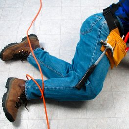Workplace Injuries From Falls